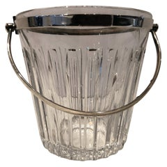 Timelessly Elegant Baccarat Ice Bucket