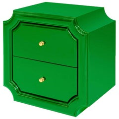 Timeo Green Side Table
