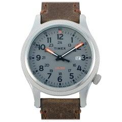 Timex Allied LT Leather Strap Watch TW2T33300