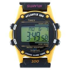 Timex Atlantis 100 Seasonal Yellow Watch TW2U31200