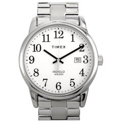 Timex Easy Reader Date Stainless Steel Watch TW2R58400