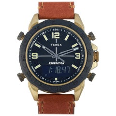 Timex Expedition Pioneer Combo Brown Leather Watch TW4B17200