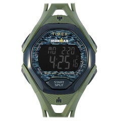 Timex IRONMAN Sleek 30 Green Resin Watch TW5M23900
