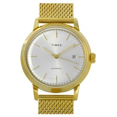 Timex Marlin Automatic Gold-Tone Watch TW2T34600