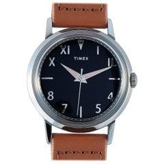 Timex Marlin California Dial Japan Limited Edition Black Dial Watch TW2U19700
