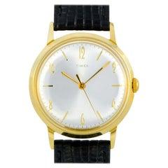 Timex Marlin Hand-Wound Gold-Tone Watch TW2T18400