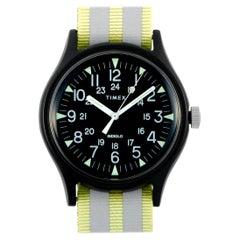 Timex MK1 Aluminum Reflective Strap Watch TW2R81000