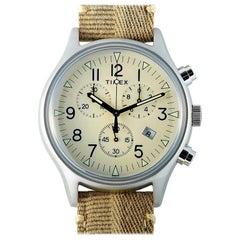 Timex MK1 Chronograph Khaki Fabric Strap Watch TW2R68500