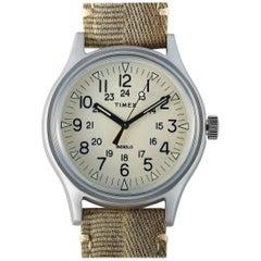 Timex MK1 Khaki Fabric Strap Watch TW2R68000