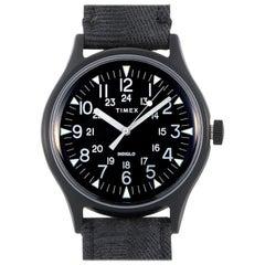 Timex MK1 Steel Black Dial Watch TW2R68200