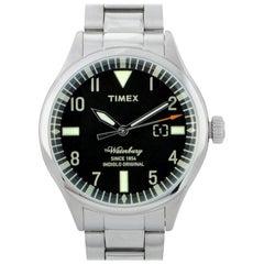 Timex Waterbury Stainless Steel Watch TW2R25100