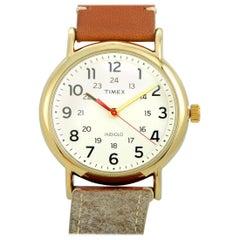 Timex Weekender Brown Fabric Strap Watch TW2R42100