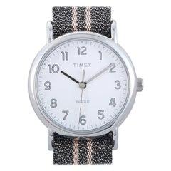 Timex Weekender Gray Metallic Strap Watch TW2R92200