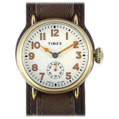 Timex Welton Leather Strap Watch TW2R87900