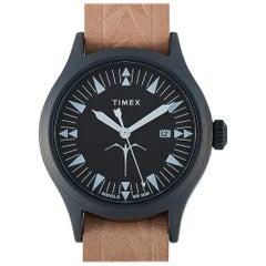 Timex x Keone Nunes Maka Ihe Brown Leather Watch TW2T81800