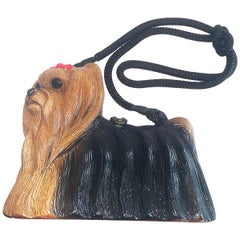 "Timmy Woods Yorkshire Terrier Dog bag handbag ""Yorkie"""