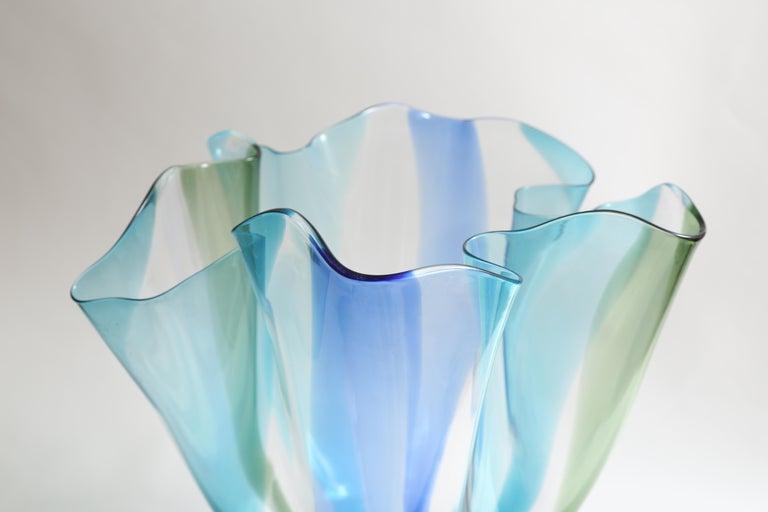Glass Timo Sarpaneva Kukinto Vase For Sale