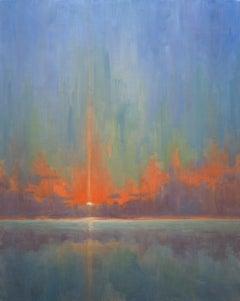 Breaking Sky II, Painting, Oil on Canvas