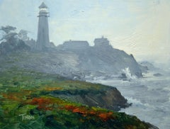 Coastal Atmosphere, Painting, Oil on Canvas