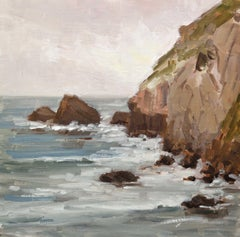 Coastal Greys, Painting, Oil on Canvas