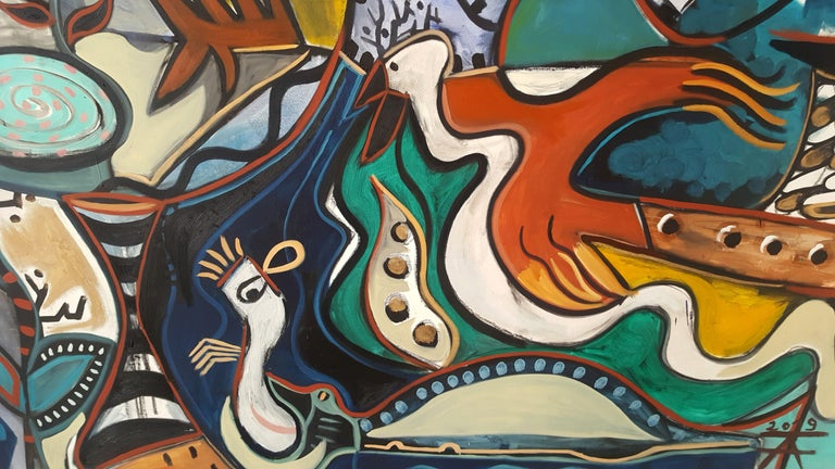 The furious lady -Timothy Archer, 21st Century, Contemporary painting For Sale 1