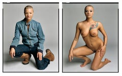Belladonna (Diptych-Clothed/Nude) from the XXX 30 PORN-STAR PORTRAITS SERIES