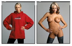 Briana Banks (Diptych-Clothed/Nude) from the XXX 30 PORN-STAR PORTRAITS SERIES