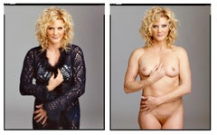 Ginger Lynn (Diptych-Clothed/Nude) from XXX 30 PORN-STAR PORTRAITS SERIES