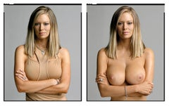 Jenna Jameson (Diptych-Clothed/Nude) from the XXX 30 PORN-STAR PORTRAITS SERIES