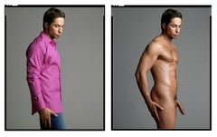 Michael Lucas (Diptych-Clothed/Nude) from XXX 30 PORN-STAR PORTRAITS SERIES