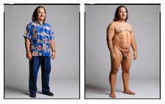 Ron Jeremy (Diptych-Clothed/Nude) from the XXX 30 PORN-STAR PORTRAITS SERIES