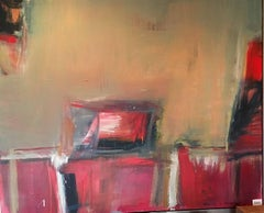 Abstraction with Red Square