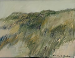 Strong Dunes - Shades of Green  30 X 40