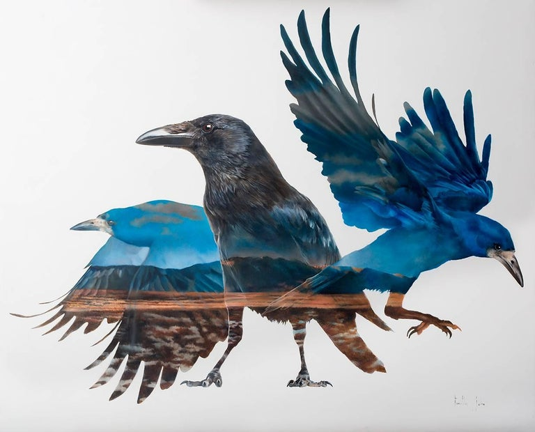 Timothy W. Jahn, Eye-Witness, Oil Painting, 2018