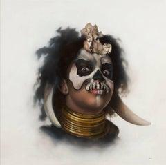 Timothy W. Jahn, My Voodoo, Oil Painting, 2018