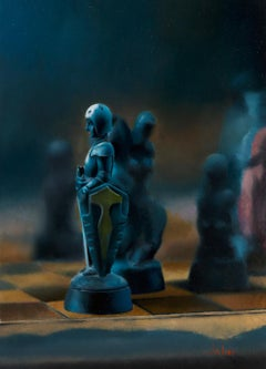 Timothy W. Jahn, Pawn, Oil Painting