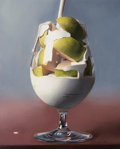 Timothy W. Jahn, Pear Shake, Oil Painting