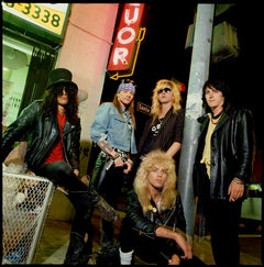Guns n' Roses, Los Angeles, California, 1988