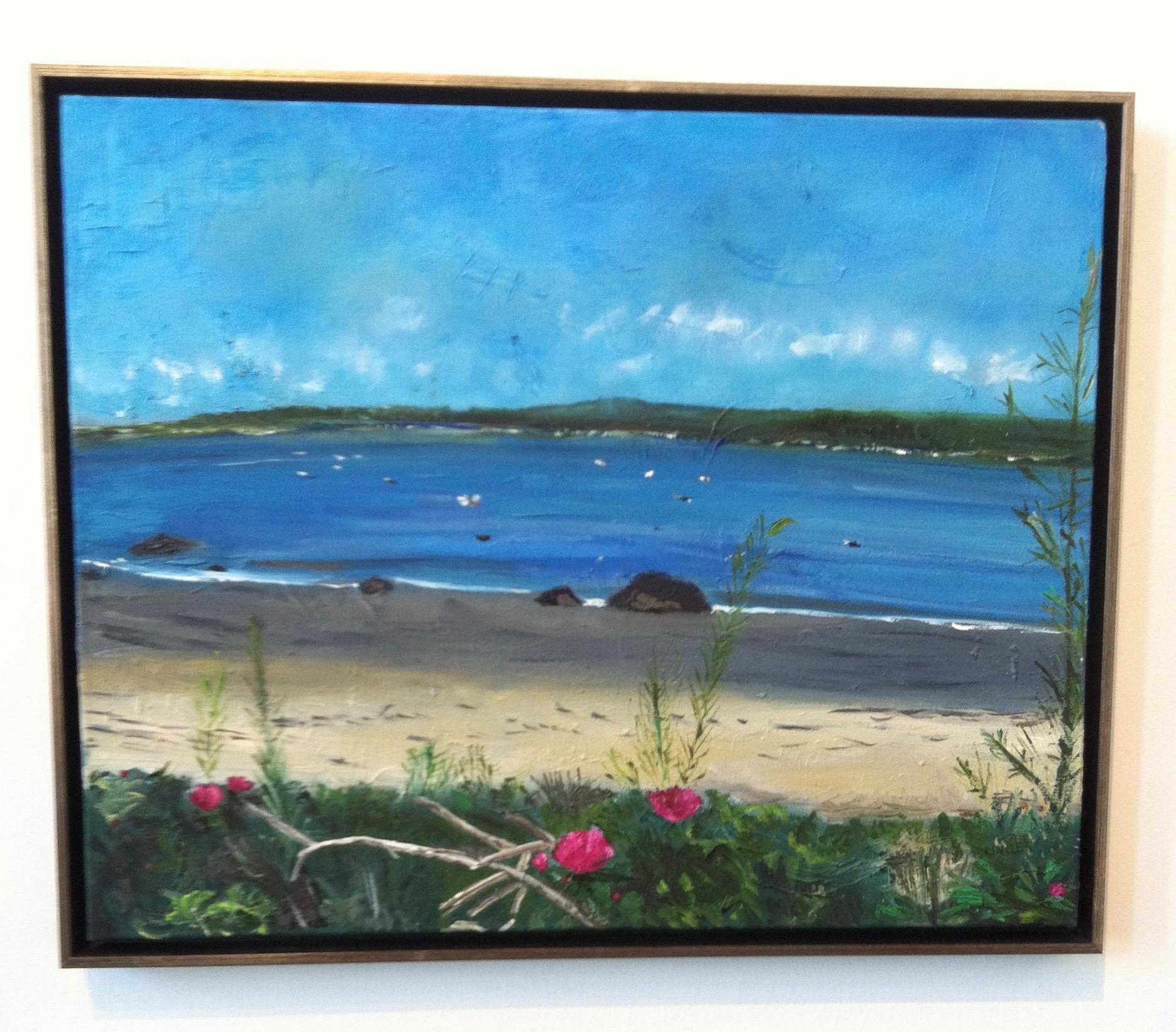 Landscape in Oil and Canvas  -- Gloucester