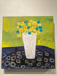 Still-life Painting on Canvas - Tuesday's Bouquet