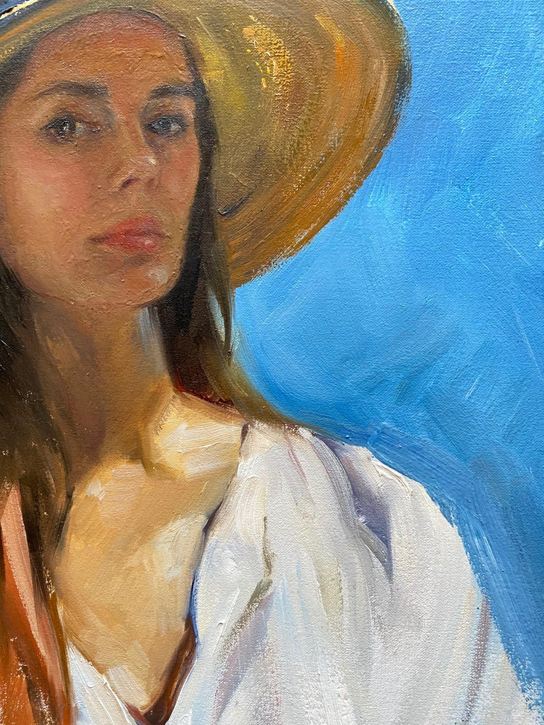 Self Portrait En Plein Air For Sale 6