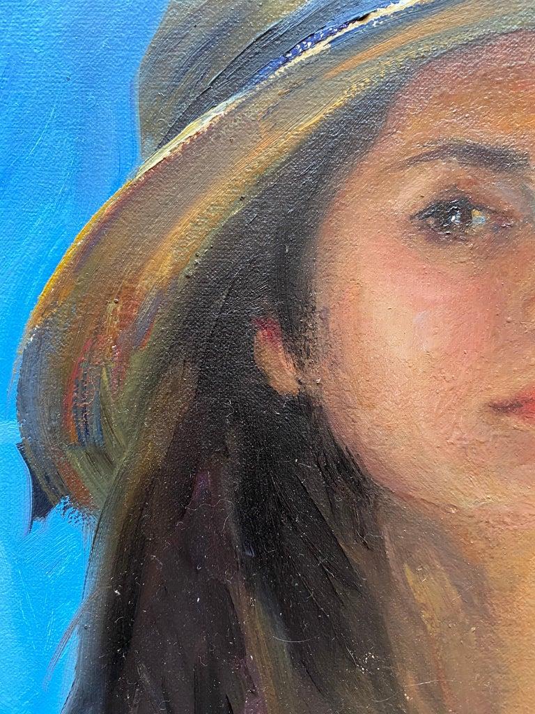 Self Portrait En Plein Air For Sale 2