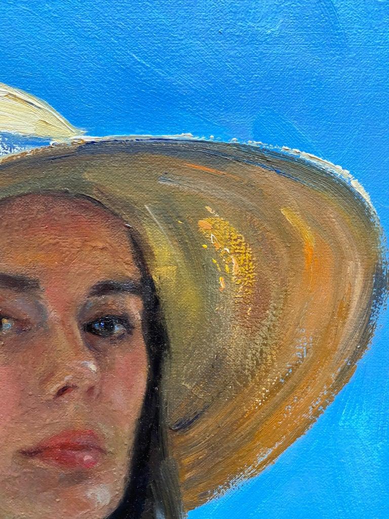 Self Portrait En Plein Air For Sale 4