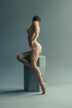 Akt, Nude, woman, contemporary, color