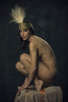 Phoenix, Nude, woman, contemporary, color