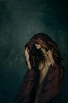 Secret Escape, Nude, woman, contemporary, color