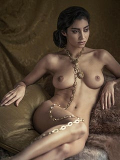 Speak low, Nude, woman, contemporary, color