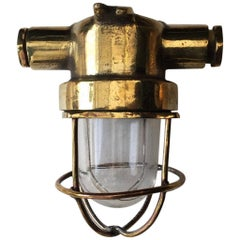 Tiny Brass Ceiling or Wall Lights