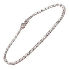 Tiny/Small Diamond Tennis Bracelet