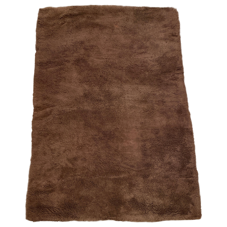 TISCA, Large Vintage Wool Rug, circa 1970-1980